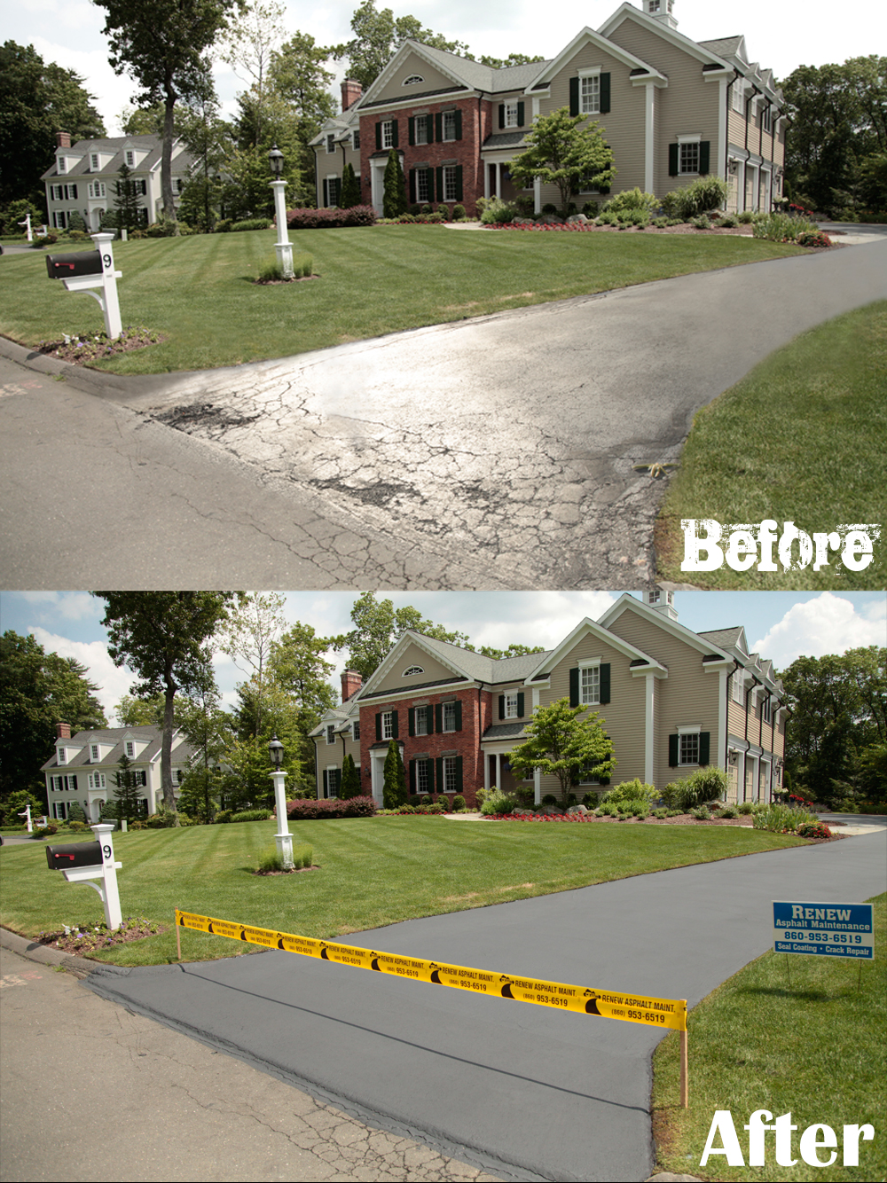 Before and After: Residential Driveway